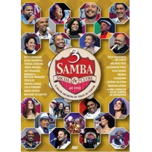 Samba Social Club 3 - DVD