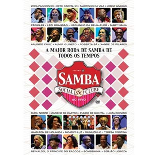 Samba Social Clube - Volume 05 - DVD