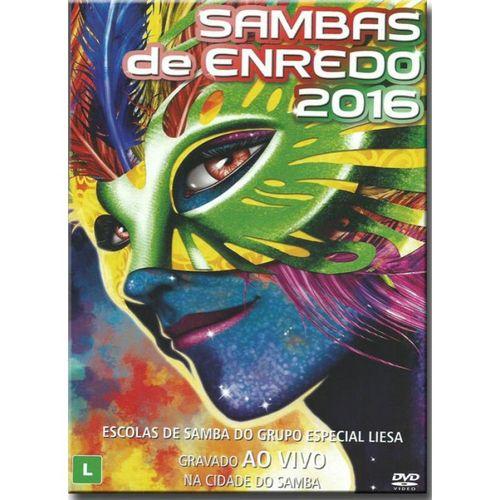 Sambas De Enredo - 2016 - DVD