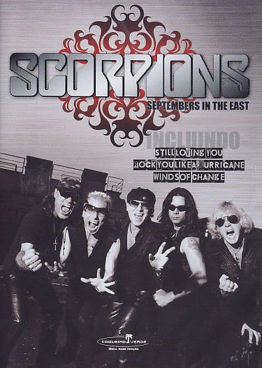 Scorpions - Septembers In The East - DVD
