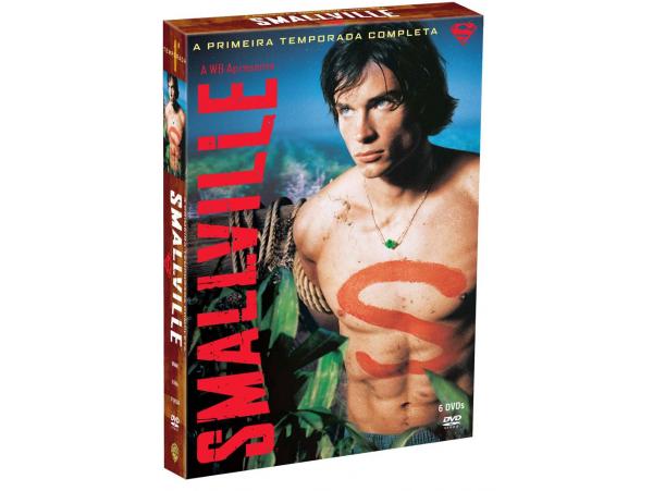Smallville - 1ª Temporada - 6 Discos - Box - DVD