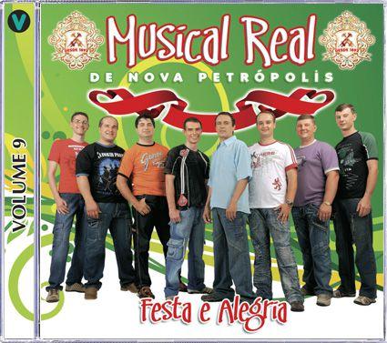 Super Banda Real De Nova Petrópolis - Festa E Alegria - CD