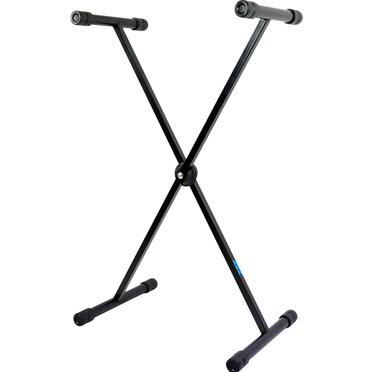 Suporte Pedestal para Teclado C/ Regulagem de Altura Preto ASK X10S