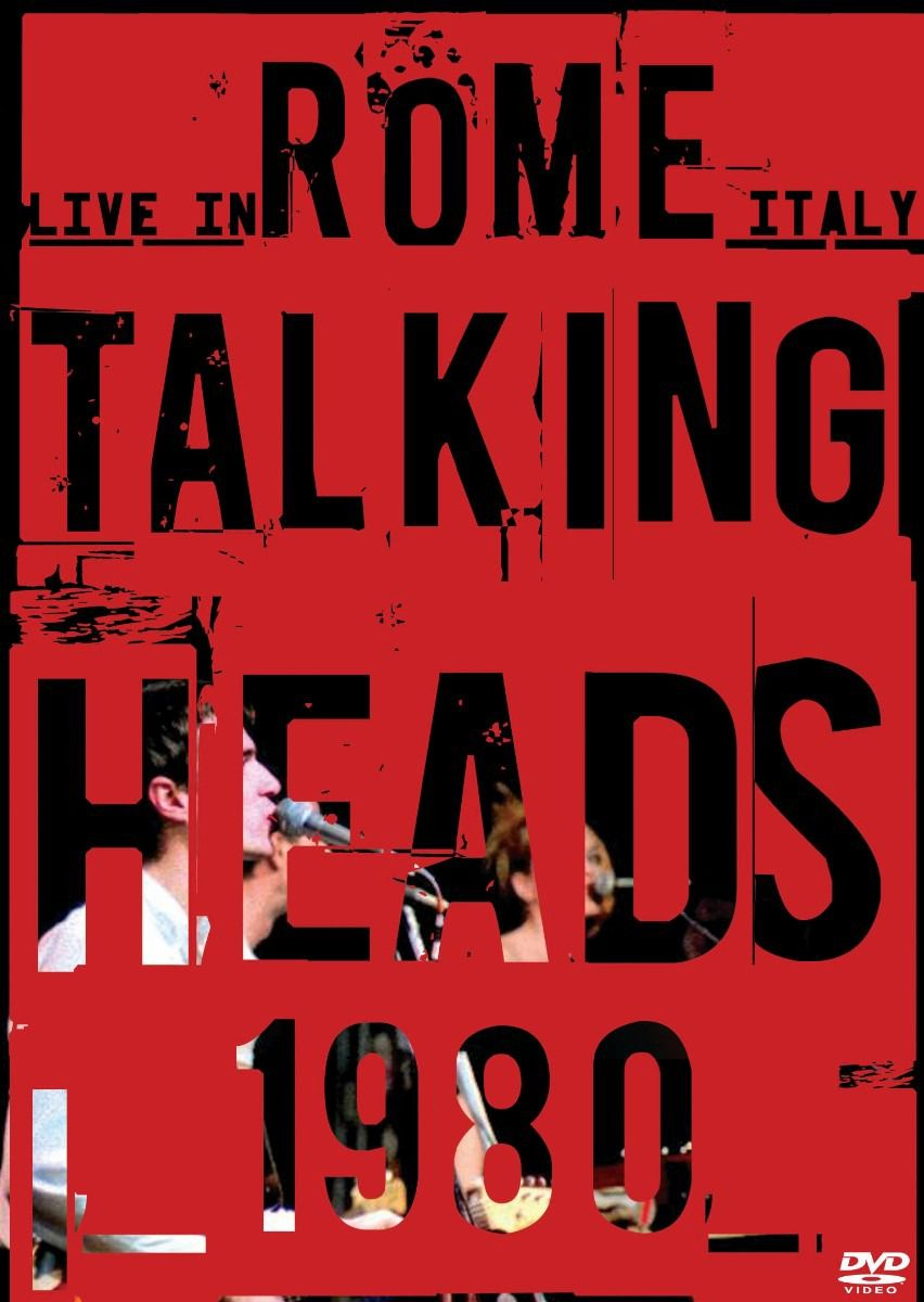 Talking Heads - Live In Rome - Italy 1980 - DVD