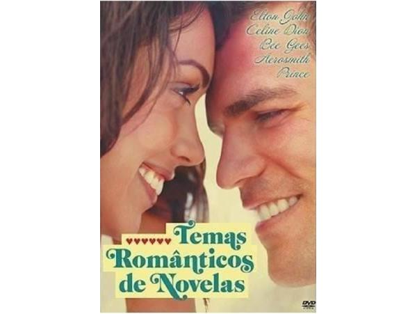 Temas Românticos de Novelas - DVD