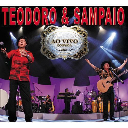 Teodoro & Sampaio - Ao Vivo Convida - Musicpack - CD