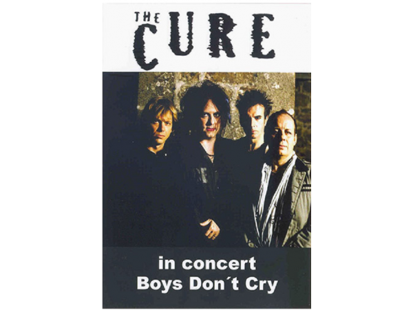 The Cure - In Concert - Boys Don't Cry - DVD