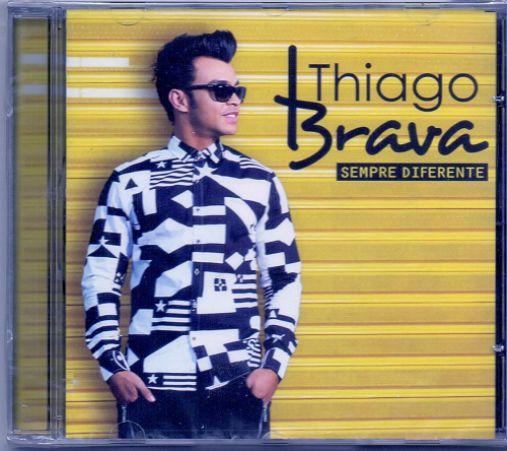Thiago Brava - Sempre Diferente - CD