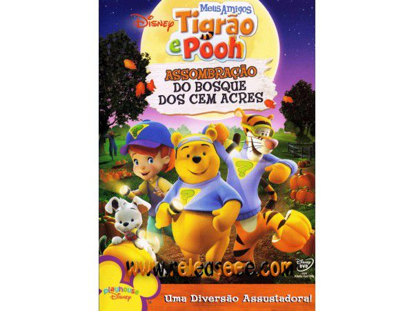 Tigrão e Pooh - Assombração do Bosque - DVD