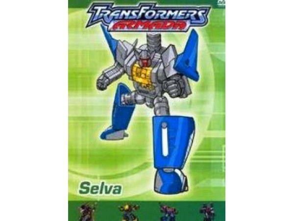 Transformers Armada - Mini-dvd - Selva