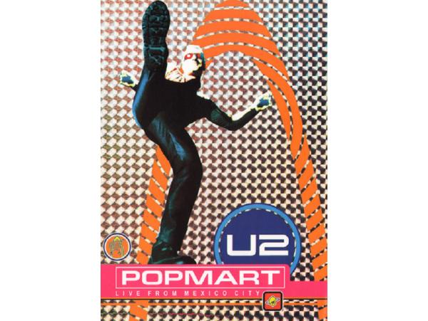 U2 - Popmart - Live From Mexico City - DVD