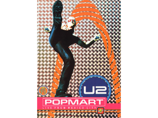 U2 - Popmart - Live From Mexico City - DVD