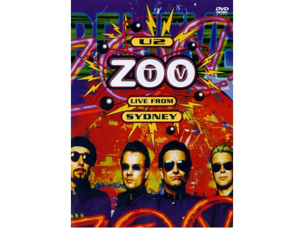 U2 - Zootv - Live From Sydney - DVD