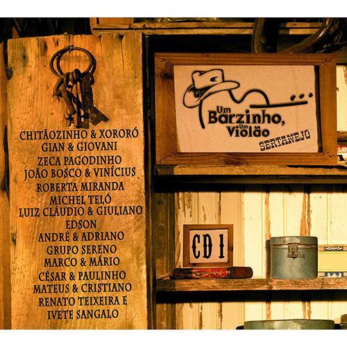 Um Barzinho, Um Violão - Sertanejo - 1 - CD