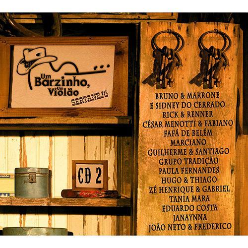 Um Barzinho, Um Violão - Sertanejo - Vol 2 - CD