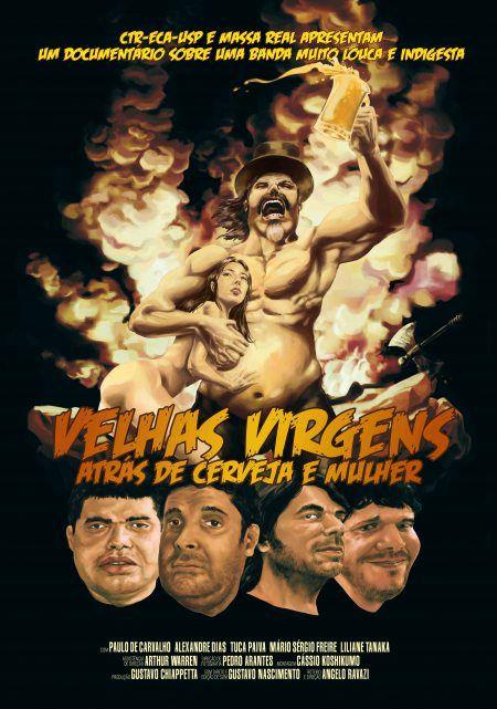 Velhas Virgens  - Atrás de Cerveja e Mulher - DVD