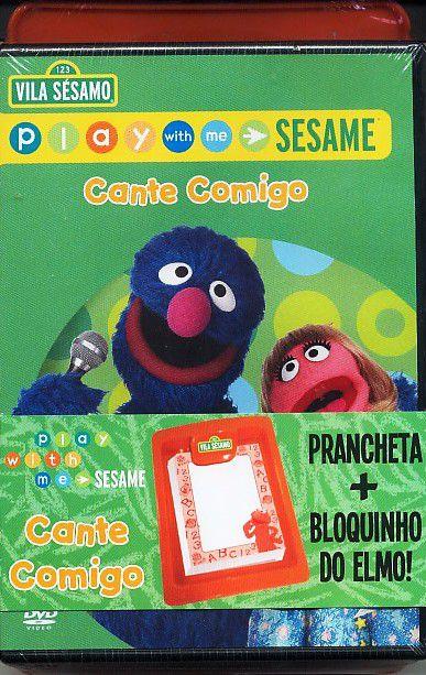 Vila Sesamo - Cante Comigo + Prancheta E Bloquinho