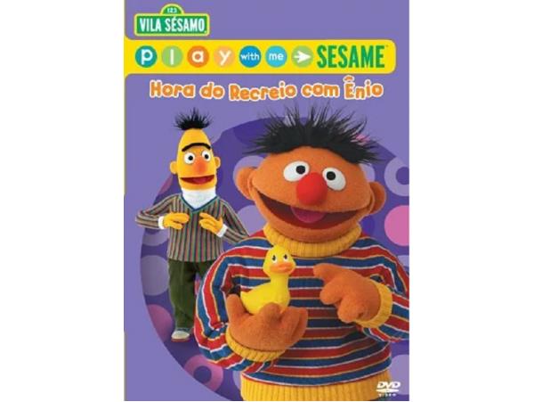 Vila Sésamo - Hora do Recreio Com Ênio + Brinde - DVD
