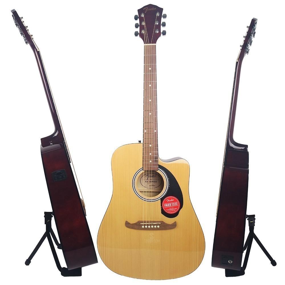 Violão Eletroacústico Fender FA 125CE Natural Dreadnought