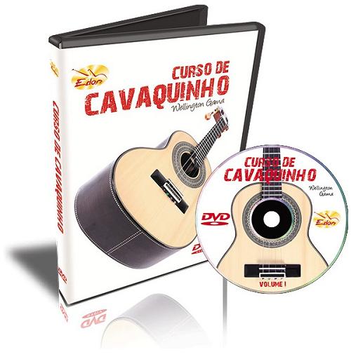 Wellington Gama - Curso De Cavaquinho - Volume 1 - DVD