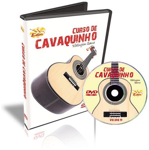 Wellington Gama - Curso De Cavaquinho Volume 3 - DVD