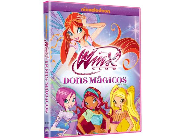 Winx Club - Dons Mágicos - DVD