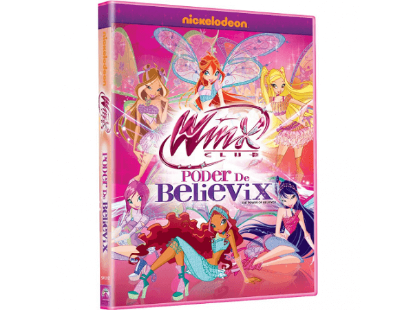 Winx Club - Poder de Believix - DVD
