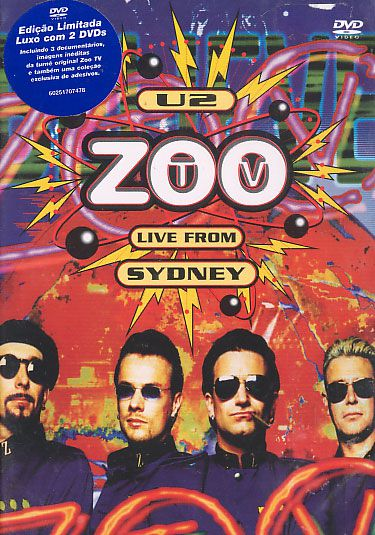 Zoo TV. - Live From Sidney (Duplo)
