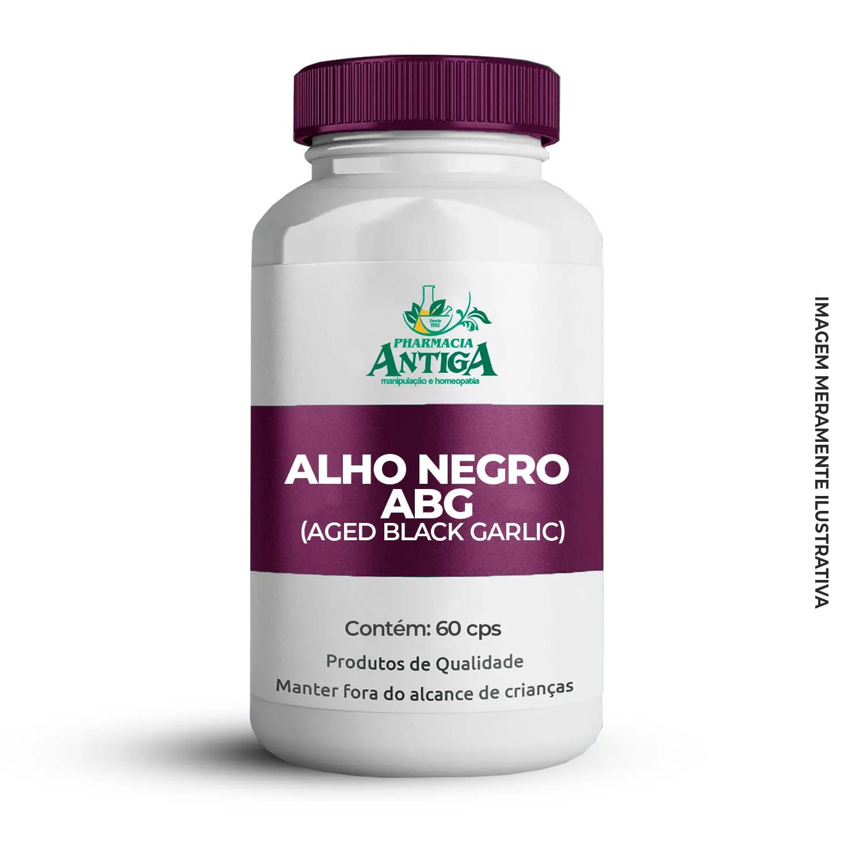 ALHO NEGRO ABG (AGED BLACK GARLIC) 60cps