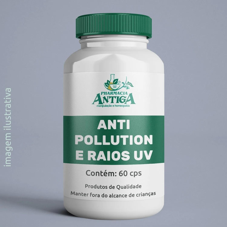 ANTI POLLUTION E RAIOS UV 60 cps