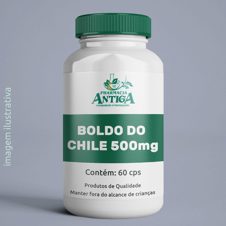 BOLDO DO CHILE 500mg 60cps