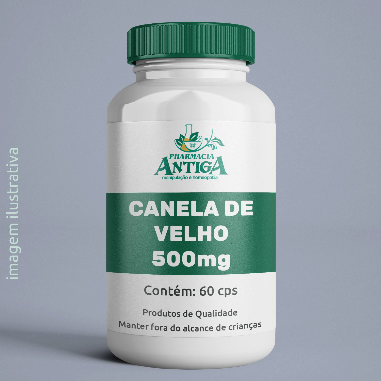 CANELA DE VELHO 500MG 60 cps