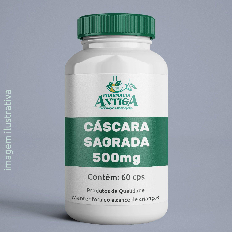 CASCARA SAGRADA 500mg 60cps