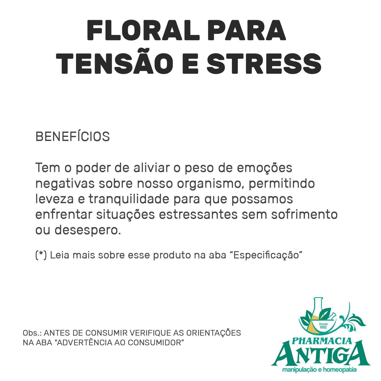 FLORAL PARA TENSÃO E STRESS 30ml