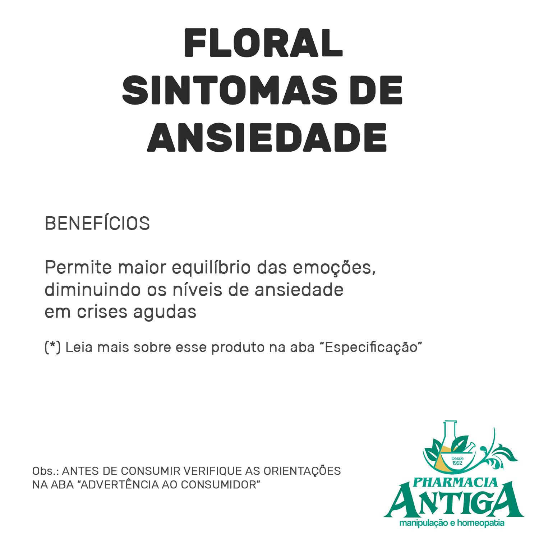 FLORAL SINTOMAS DE ANSIEDADE 30ml