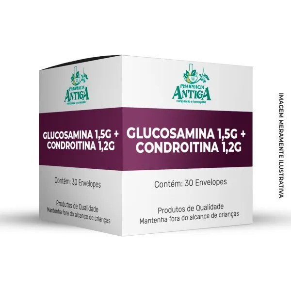 GLUCOSAMINA 1,5G + CONDROITINA 1,2G 30 ENVELOPES