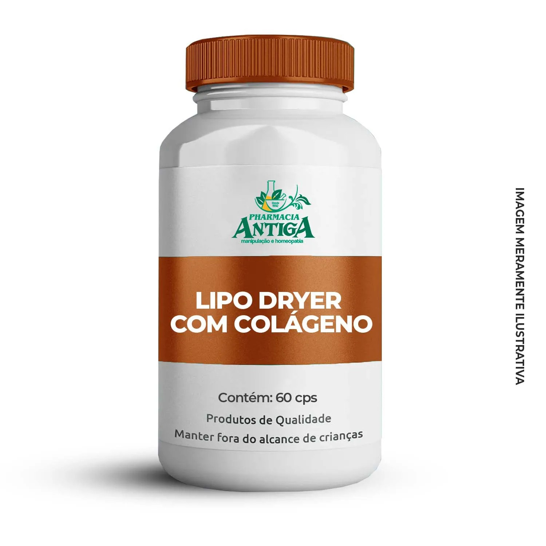LIPO DRYER COM COLÁGENO - 60cps
