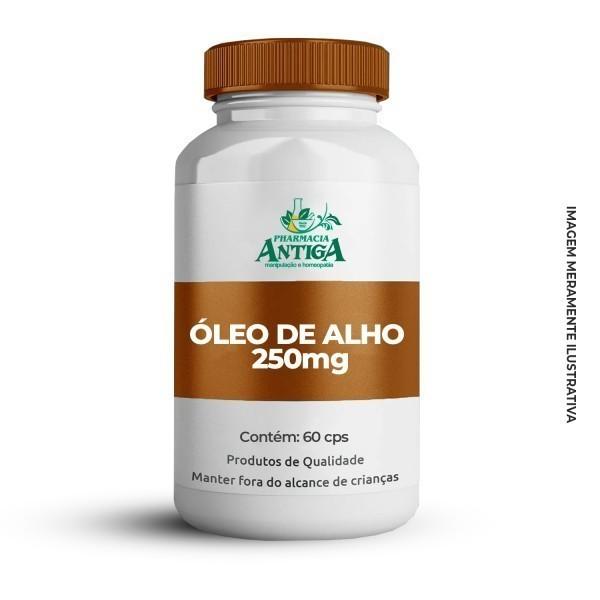 ÓLEO DE ALHO 250mg 60cps