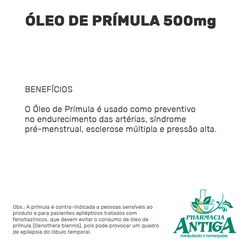 ÓLEO DE PRÍMULA 500mg 60cps