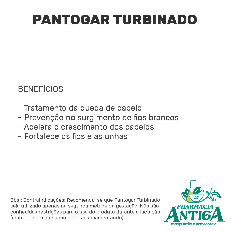 PANTOGAR TURBINADO - 60cps