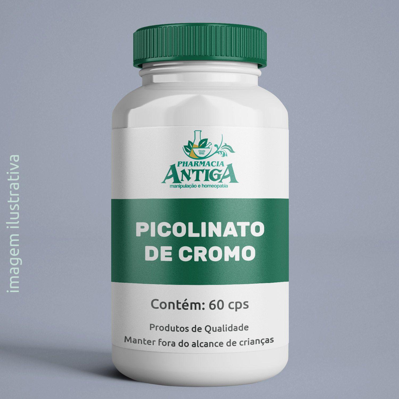 PICOLINATO DE CROMO 60 cps