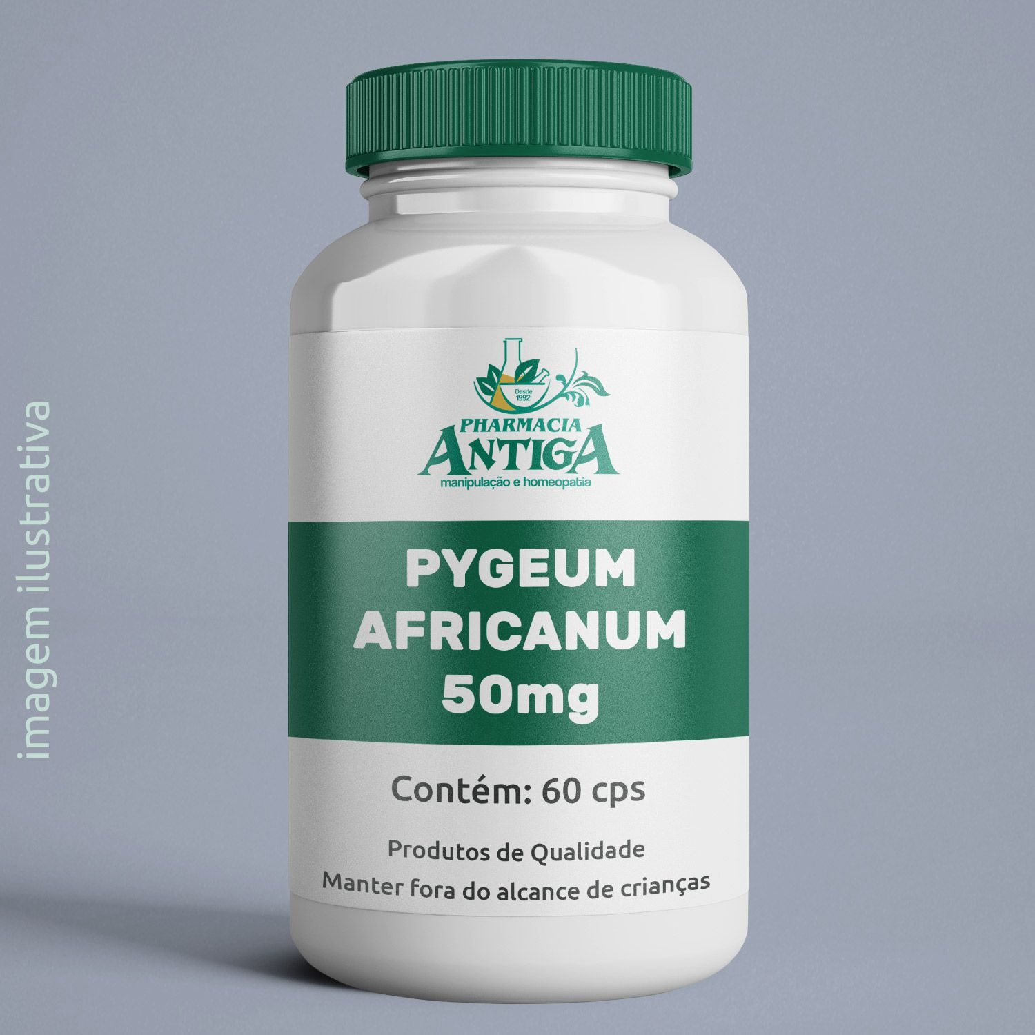 PYGEUM AFRICANUM  50MG 60 cps