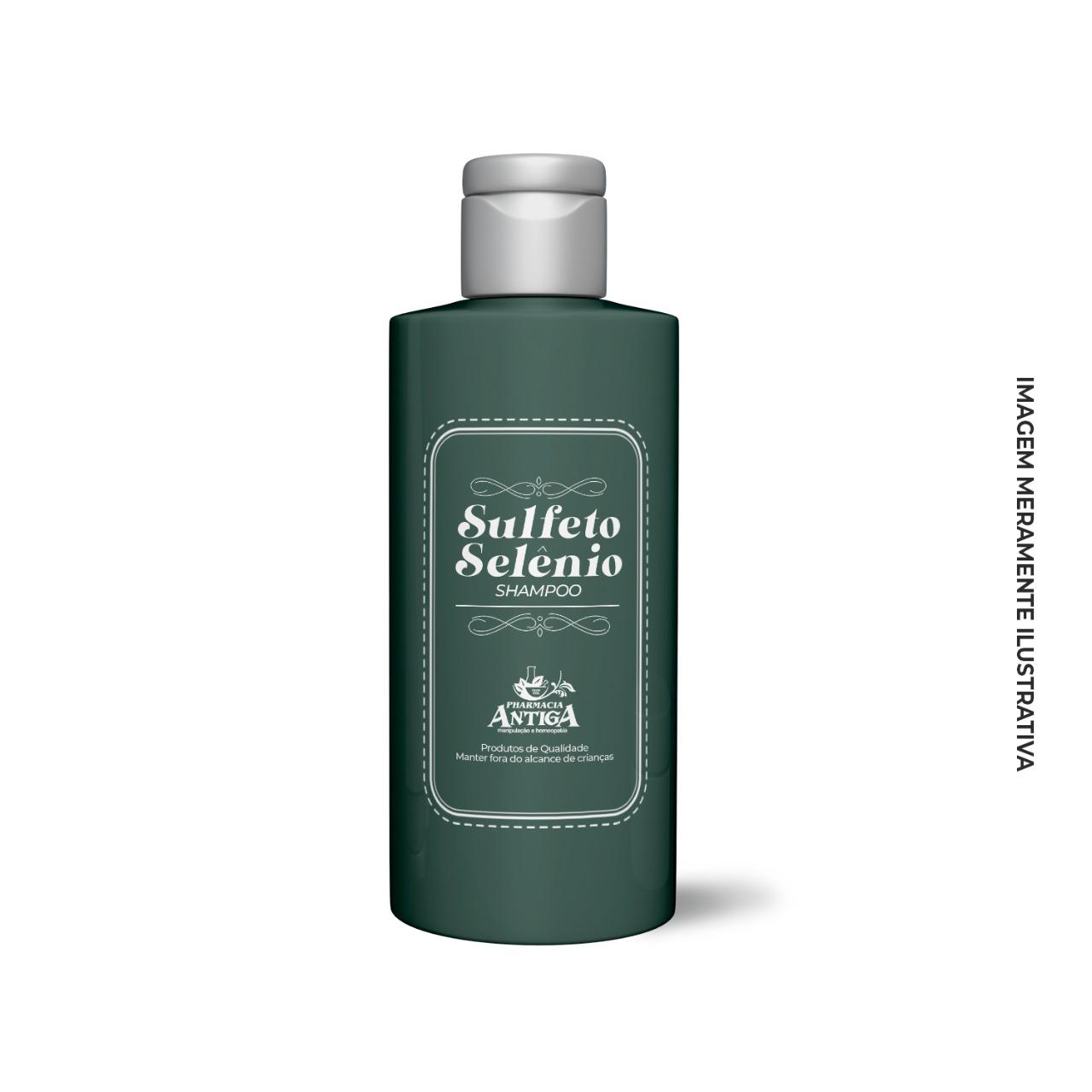 Shampoo Sulfeto de Selênio 120ml