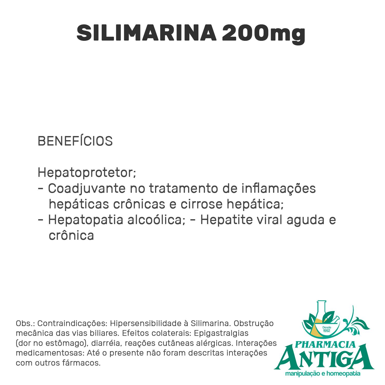 SILIMARINA 200mg 60cps