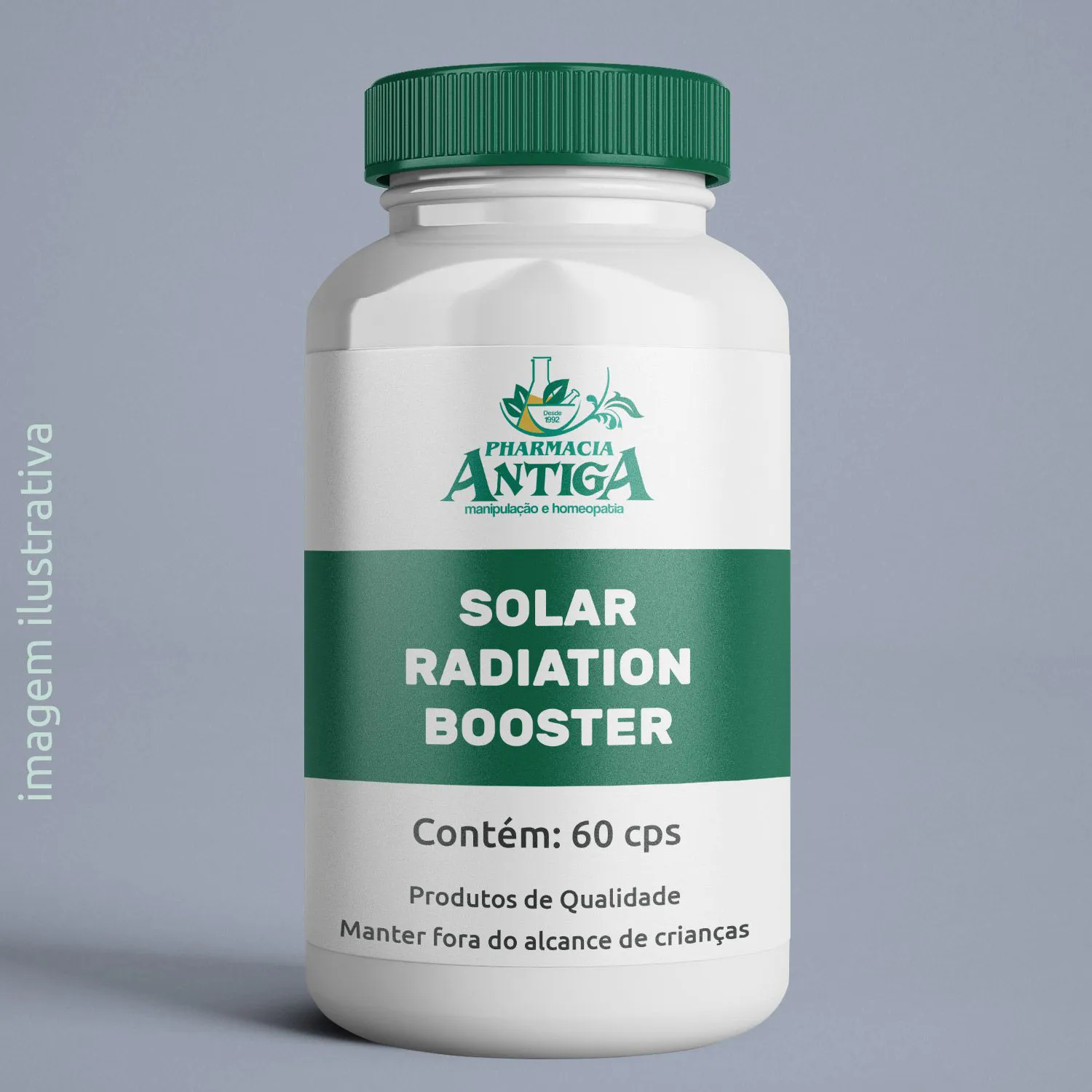 SOLAR RADIATION BOOSTER 60 cps