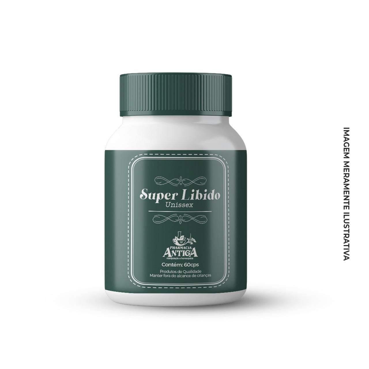 Super Libido Unissex 60 cps