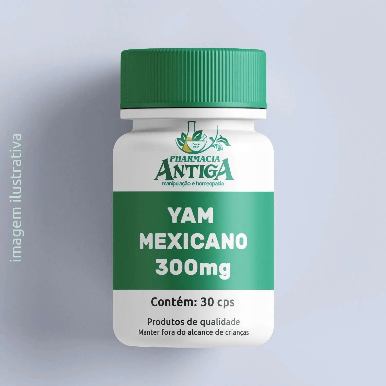 YAM MEXICANO-300MG 30cps