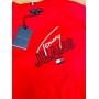 Camiseta Tommy Lisa/Estampa (cada)