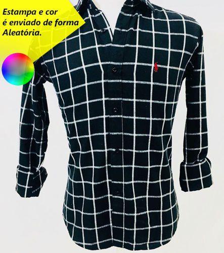 Camisa Ralph Lauren Flanelada Xadrez