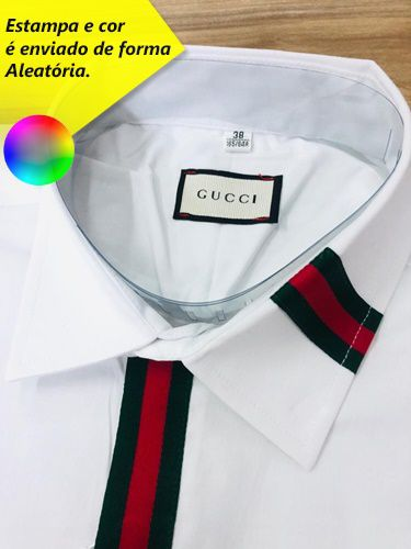 Camisa Social Gucci (Manga Longa) > Chinesa